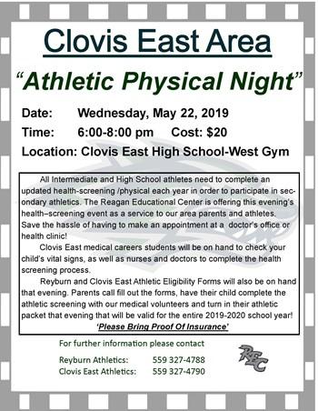 Area Athletic Night