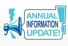 annual information update