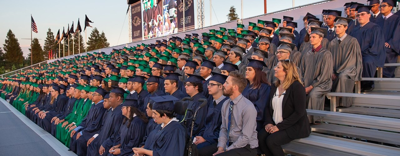 Lincoln High School Graduation 2020.Clovis East High School